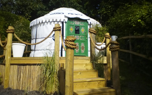A 3.5m diameter yurt is up in Standon Hertfordshire