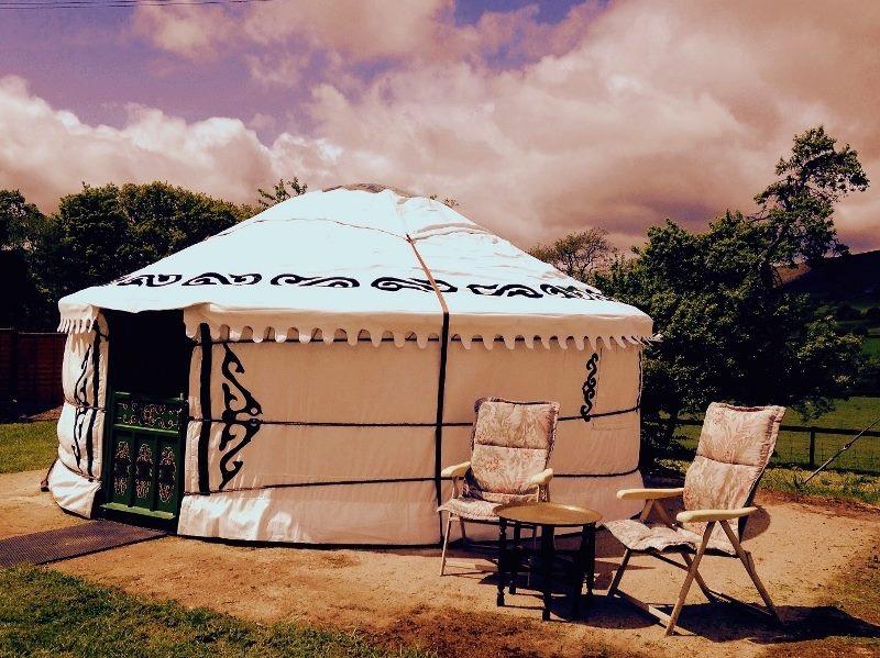Yurts at Barnutopia