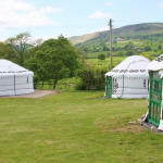 External view of the yurt