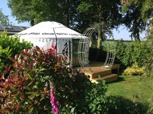 'Yurt at the Chapel' in Deepdale UK