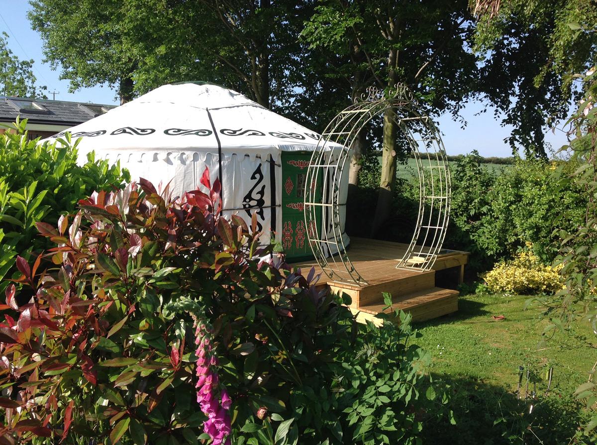 Cath F Yurt 1