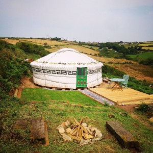 Cornish Yurt Project
