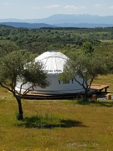 Yurt in Portugal