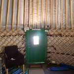 Interior View - Entrance of The Yurt