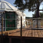 Yurt With Decking