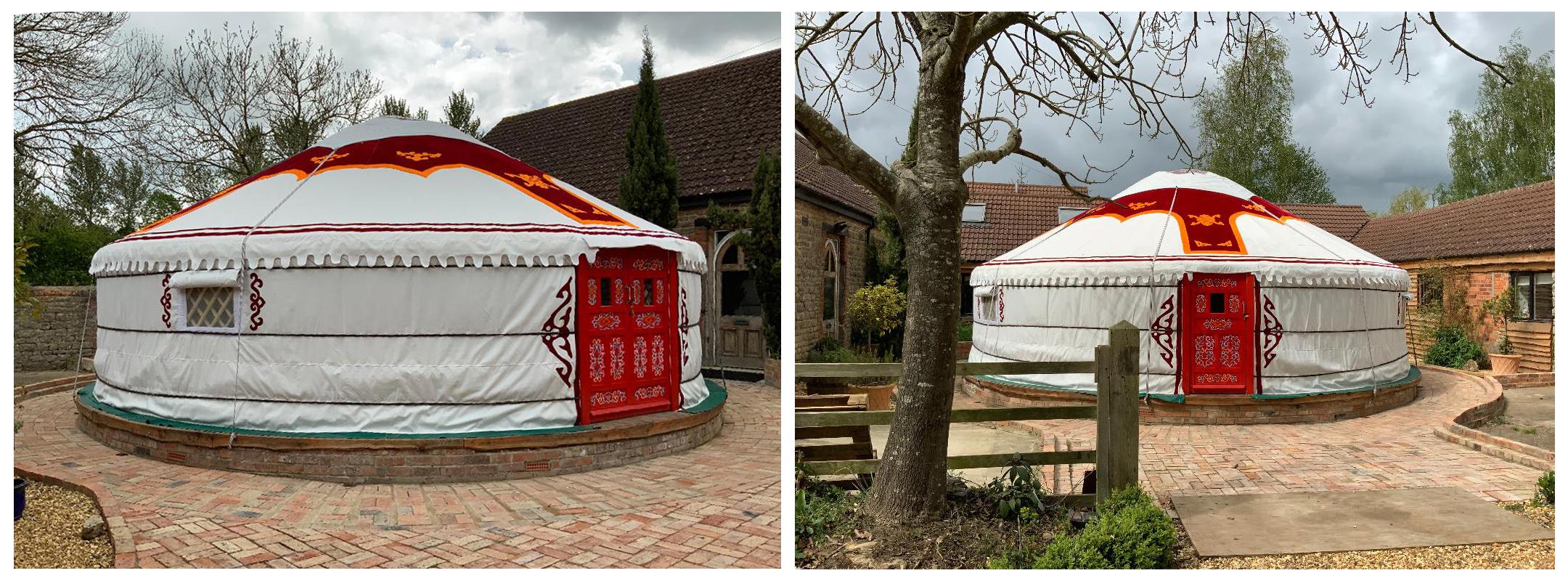 New 8m Diameter Yurt
