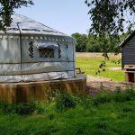 Beautiful Yurt window