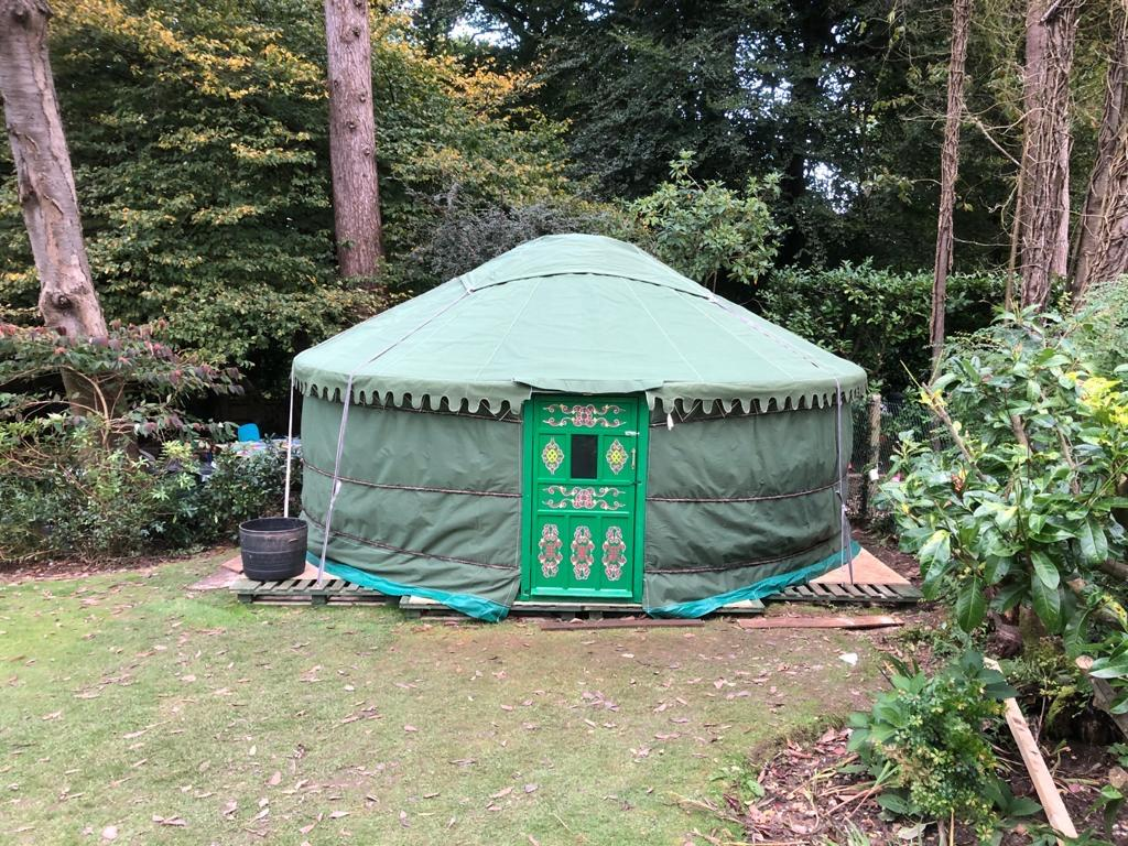 Green Yurts Are Available